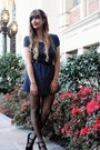 Navy-polka-dot-dress-mimi-chica-dress-black-sheer-tights-h-m-tights