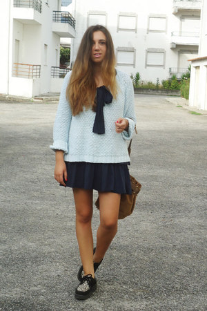 Zara dress - shoes - Zara sweater