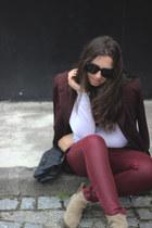 Isabel Marant boots - H&M jeans - vintage blazer - Celine sunglasses