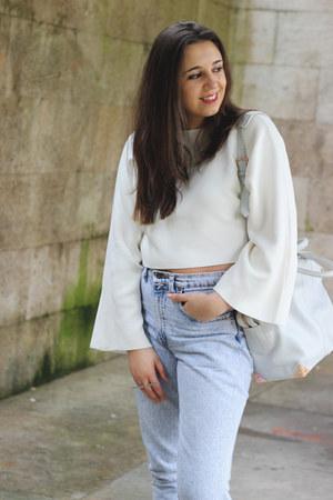Zara top - Levis jeans - Alexander Wang bag - Zara heels