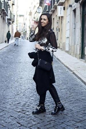 asos shirt - balenciaga boots - Alexander Wang bag - Zara pants