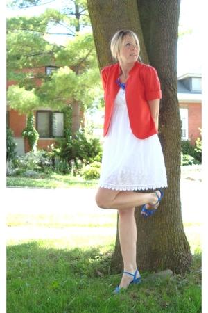 dress - shoes - blazer - accessories