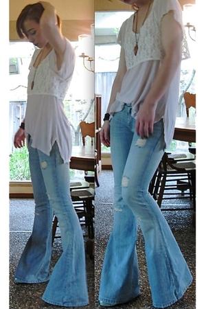 Emma & Sam shirt - Millau top - furst premium jeans