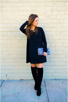 franco sarto boots - swing dress Nasty Gal dress