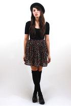 bonjour vintage skirt