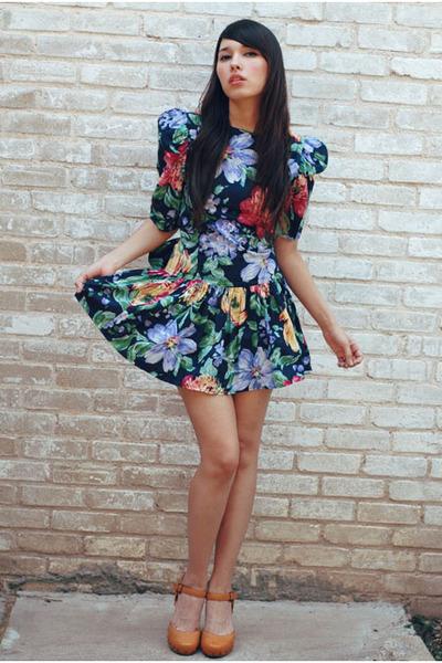 bonjour vintage dress
