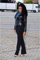 Zara heels - vintage pants