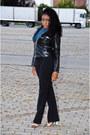 Zara-heels-vintage-pants