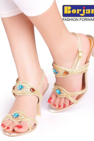 shinygolden Borjan Bridal Shoes sandals