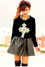 Black-romwecom-skirt