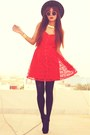 Red-lace-dahlia-dress