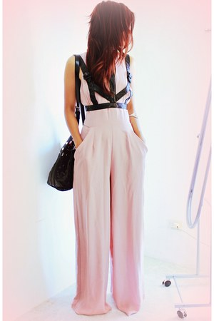 black Woakaocom bag - light pink InLoveWithFashioncom romper