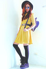 Black-creepers-choiescom-shoes-yellow-romwecom-dress
