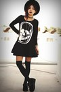 Black-creepers-choiescom-shoes-black-skull-gauze-choiescom-dress