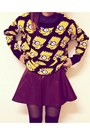 Black-creepers-choiescom-shoes-yellow-simpson-sheinsidecom-sweater