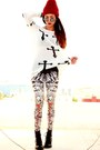 Black-babilonia-lovelysally-leggings-white-cross-inlovewithfashion-jumper
