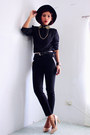Black-wholesale7net-blouse-black-wholesale7net-pants
