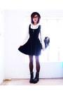 Black-wholesale7net-boots-black-velvet-skater-blackmilkclothingcom-dress