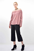 Bosroom blouse - Bosroom pants - choker Bosroom necklace
