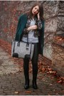 Dark-green-vintage-coat-black-h-m-pants