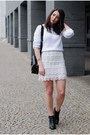 Black-zara-bag-off-white-f-f-jumper-off-white-diy-skirt