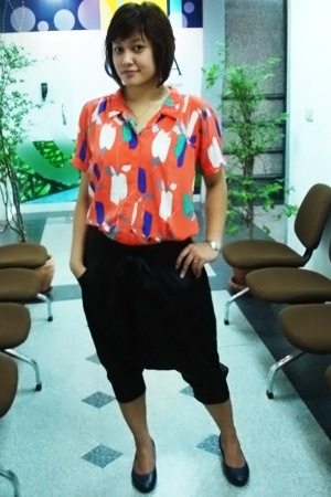 Mom top - pants - Vintage from hk shoes