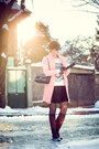 Black-us-polo-boots-pink-sheinside-coat-black-waokao-bag