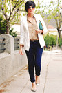 New-yorker-blazer-bershka-shirt-nude-new-yorker-bag-pull-bear-flats