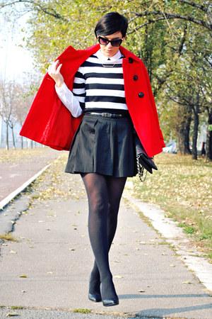 Zara shoes - Zara coat - Stradivarius shirt - Stradivarius bag - Zara blouse