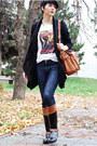 Black-tommy-hilfiger-boots-navy-zara-jeans-black-romwecom-sweater