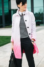 Black-zara-shoes-bubble-gum-comptoir-des-cotonniers-coat