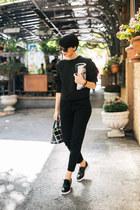 Aldo shoes - Daniel Wellington watch - H&M pants - Tijana Zunic sweatshirt
