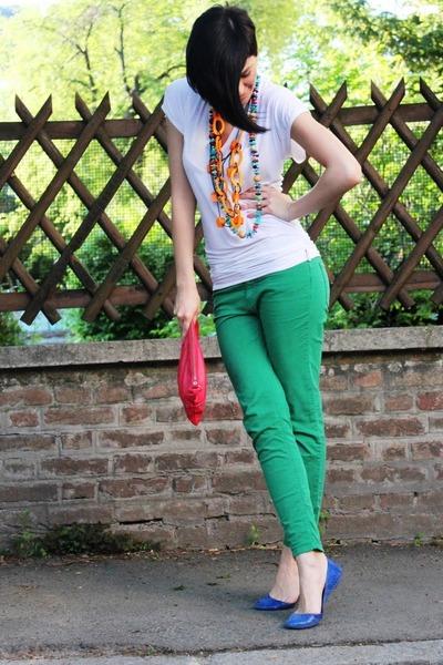 Zara pants - Tifani shirt - Mango bag - Zara flats