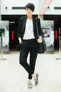Heather-gray-choies-shoes-black-sheinside-blazer-black-lindex-bag