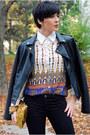 Gold-tašnarija-bag-black-oasap-boots-black-mango-jeans-black-lulus-jacket