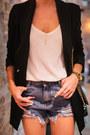 Black-sheinside-blazer-white-lindex-shirt-black-sheinside-bag