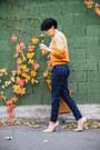 Cream-abg-shoes-carrot-orange-sheinside-sweater-bronze-herej-bag