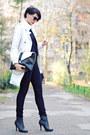 Black-oasap-boots-cream-mango-coat-black-mango-jeans