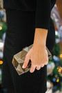 Black-lindex-dress-gold-lindex-bag-gray-lindex-necklace-black-zara-heels