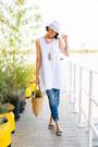 White-oviesse-dress-zara-jeans-light-brown-mmprincipessa-bag