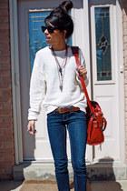 H&M glasses - American Apparel sweatshirt
