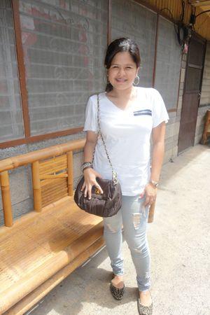 top - Hot Kiss jeans - rossa pena shoes - purse
