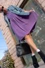 Black-jeffrey-campbell-lita-boots-purple-purple-babydoll-vintage-dress-blue-