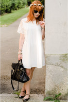 nowIStyle dress - Ray Ban sunglasses - Miu Miu flats