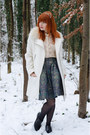 Faux-fur-collar-h-m-coat-lace-forever-21-shirt-jacquard-diy-skirt