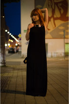 maxi Tobi dress - claudine london bag - H&M necklace
