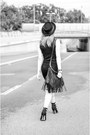 Asos-dress-bailey-of-hollywood-hat-fringed-h-m-bag