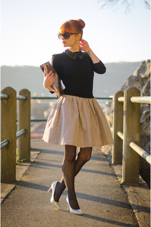 striped skirt FRAY ID dress - christian dior sunglasses