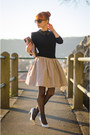 Striped-skirt-fray-id-dress-christian-dior-sunglasses