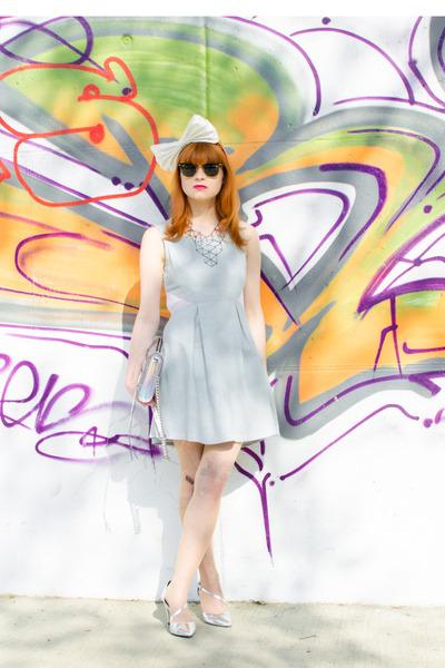 gun print romwe tights - silver d orsay asos heels